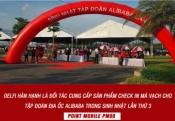DELFI CUNG CẤP HỆ THỐNG CHECK IN TRONG SỰ KIỆN SINH NHẬT CỦA ALIBABA